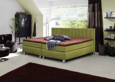 Boxspring-Basic-lindgruen